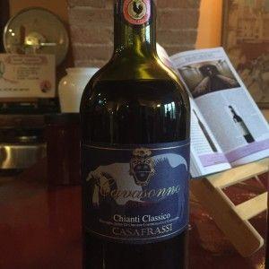o vinho chianti- chianti classico riserva