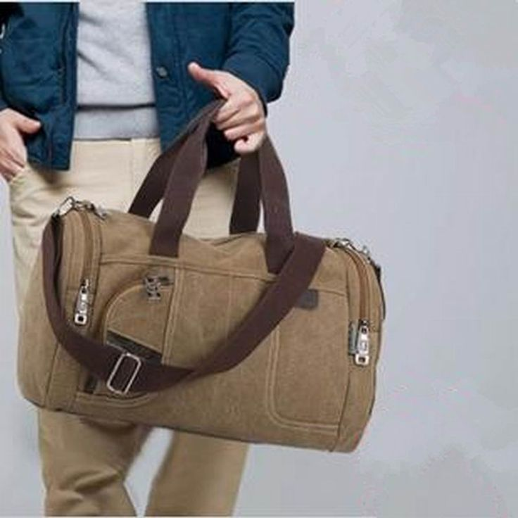 High Quality New 100% canvas bags desigher leisure shoulder bag duffle tote travel hand bag for women and men