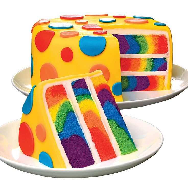 How to Make a Tie Dye Cake with a box cake mix so it's really easy and delicious.  MommyBearMedia.com #birthday #cake #recipe
