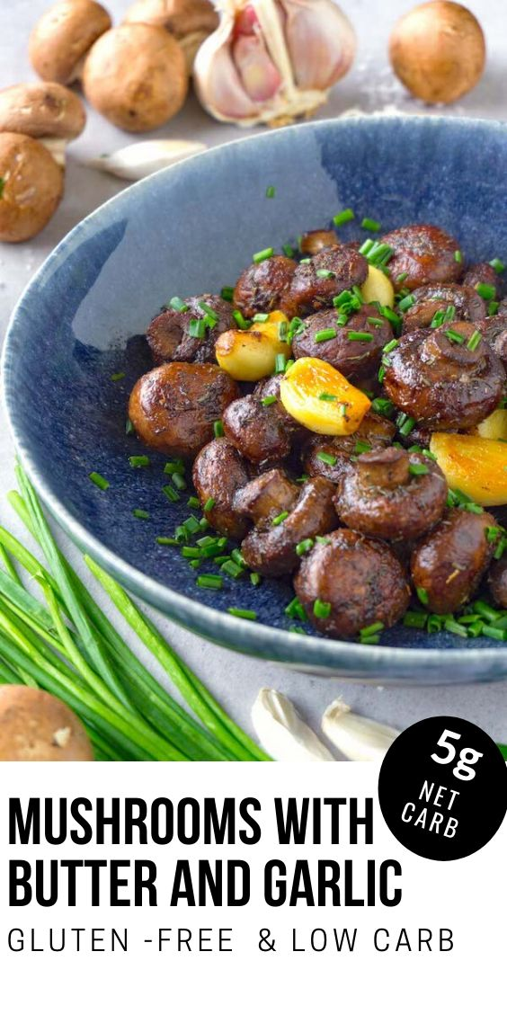 Jun 28, 2020 – Easy sautéed mushrooms with garlic is a simple low-carb keto side dish recipe that you'll come back to ov…