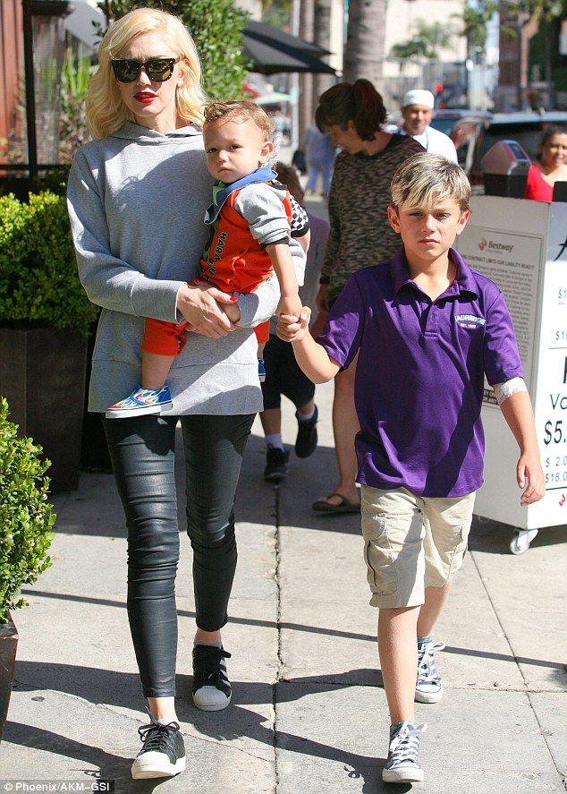 Gavin Rossdale And Gwen Stefani Kids 2015