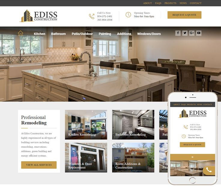 Looking For A Custom Construction Company Website Design? We Specialize In  Construction Web Design And
