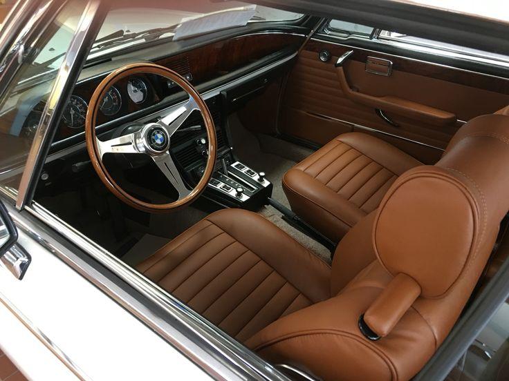 1975 BMW 3.0cs Innenraum