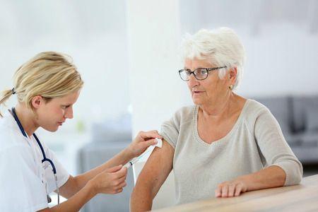 Pergunta clínica: O tempo decorrido desde a toma da vacina contra a gripe diminui a sua efetividade?