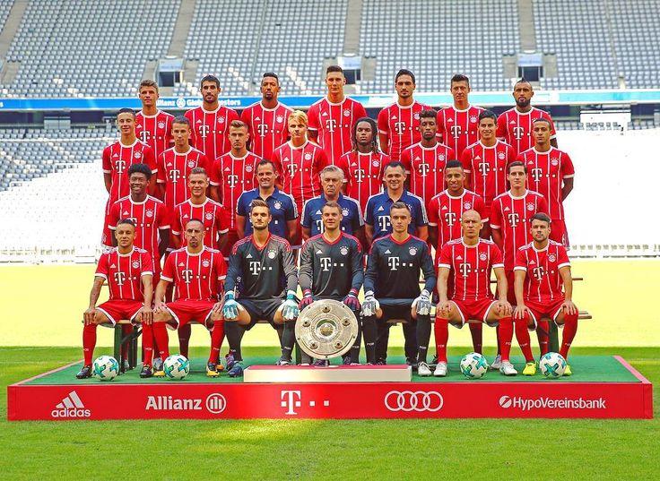 Our team 2017/18! 😍 #FCBayern #MiaSanMia