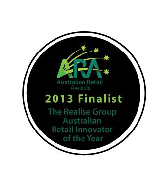 "instant retail acknowledged as a 2013 Finalist in the ARA Australian Retail Awards ""Australian Retail Innovator of the Year"" category."