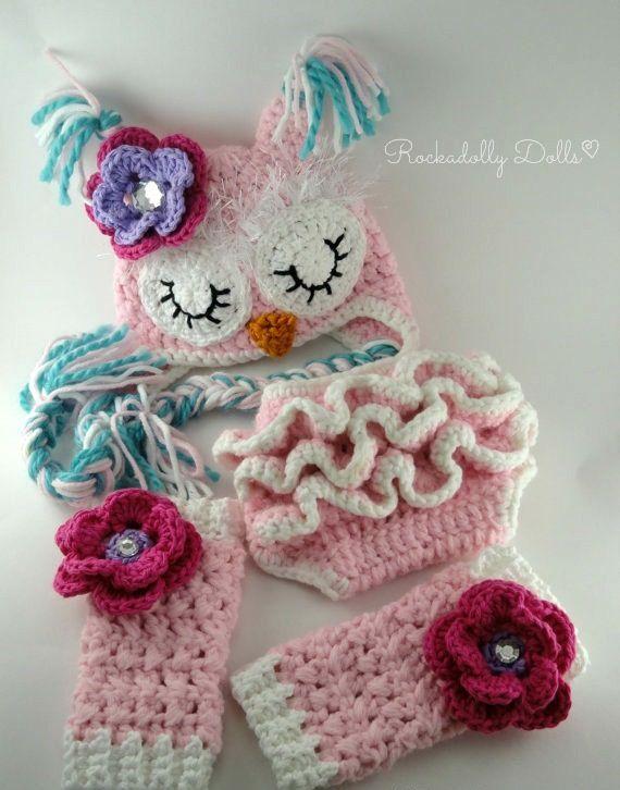 Free Crochet Owl Diaper Cover Pattern Dancox For