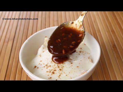 Tamarind Chutney | Imli Chutney - Restaurant Style | by bharatzkitchen - YouTube