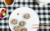 Tasty Tuesday · Zakkokumai Nori Rolls with Pickled Daikon
