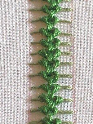 Embroidery stitch how to,LINDO OUTRO PONTO ,PRA SE BORDAR,LINDISSIMO