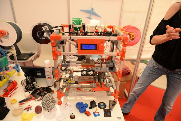 55 3D Printers at Maker Faire Rome That Youve Never Seen Before