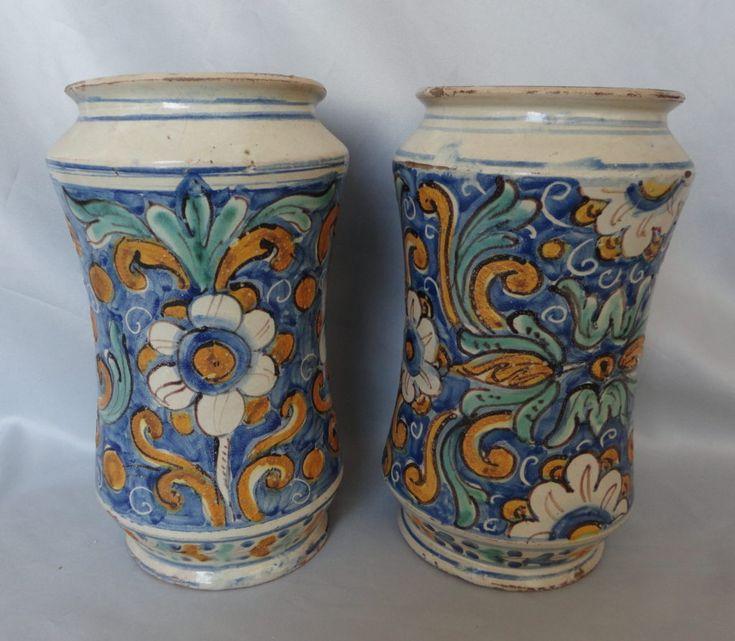 DSC01760   Ceramica dipinta, Maiolica, Vasi di ceramica
