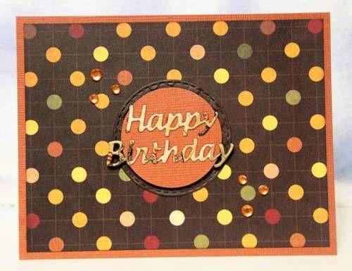 Lorraine's April CT - Happy Birthday