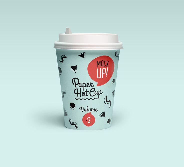 Paper cup | PSD Mockups | Pinterest | Mockup