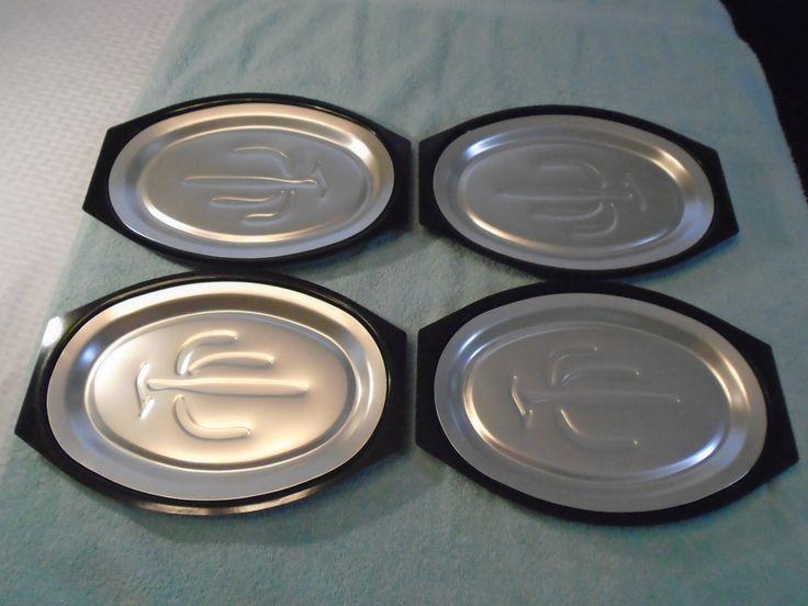 Nordic Ware/ Nordic Ware fajita plates/ Sizzling Hot Plates/ Platters / Trays / Sizzling platter by Montyhallsshowcase on Etsy