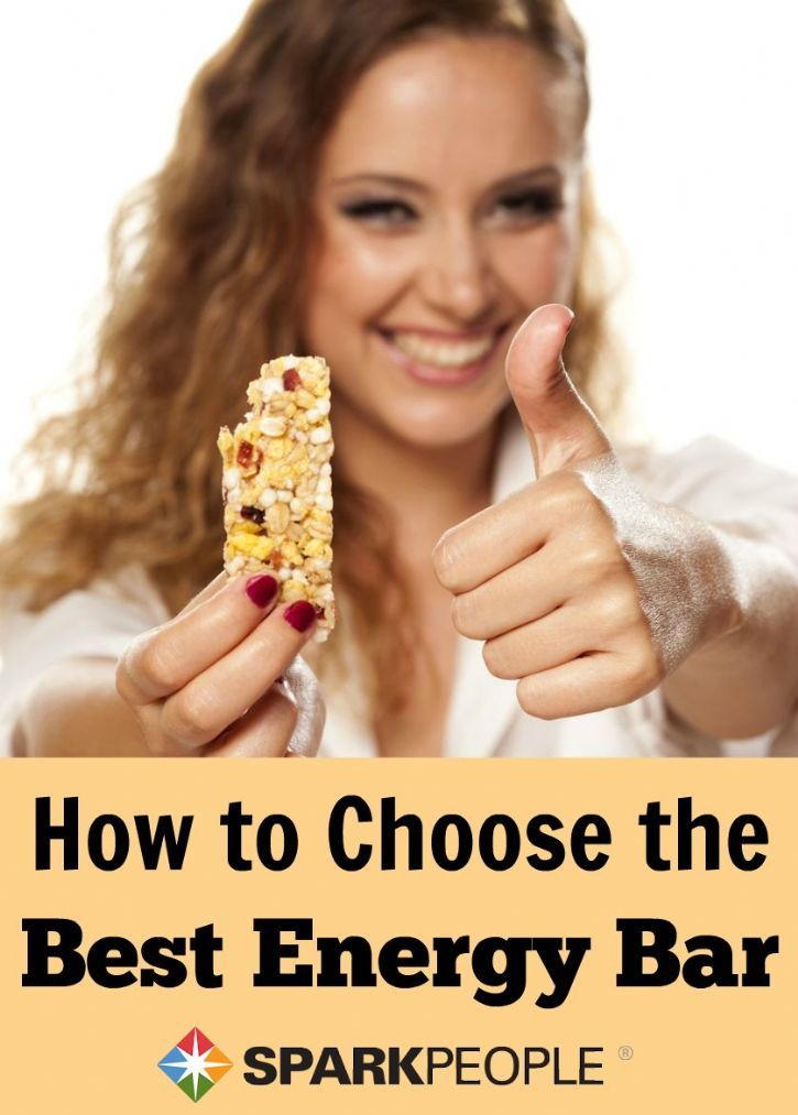 How to choose the best energy bar in a sea of hundreds!| via @SparkPeople #eatbetter #food #nutrition