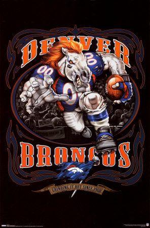 Denver Broncos LOGO Poster