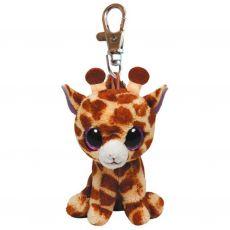Ty Beanie Boo Safari giraf sleutelhanger 8,5 cm poppen & knuffels speelgoed - Vivolanda