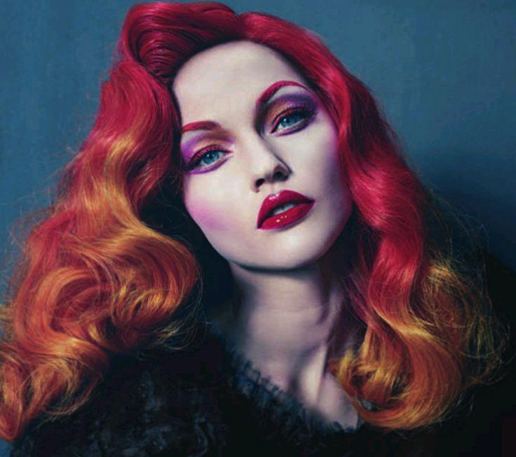 Vogue Italia. Beauty , hair.
