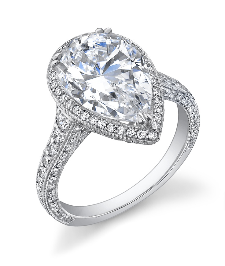 Carat Teardrop Diamond Ring