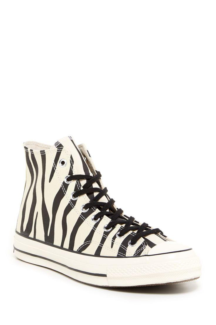 Converse | Unisex Zebra High Top Sneaker