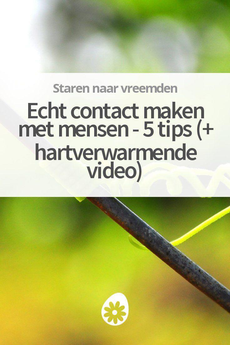 Hoe maak je beter contact met mensen? Ontdek 5 praktische tips plus een hartverwarmende video.