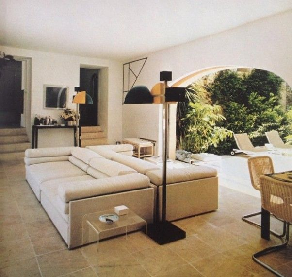 Architectural Digest book of Country Homes, 1982 - St. Tropez