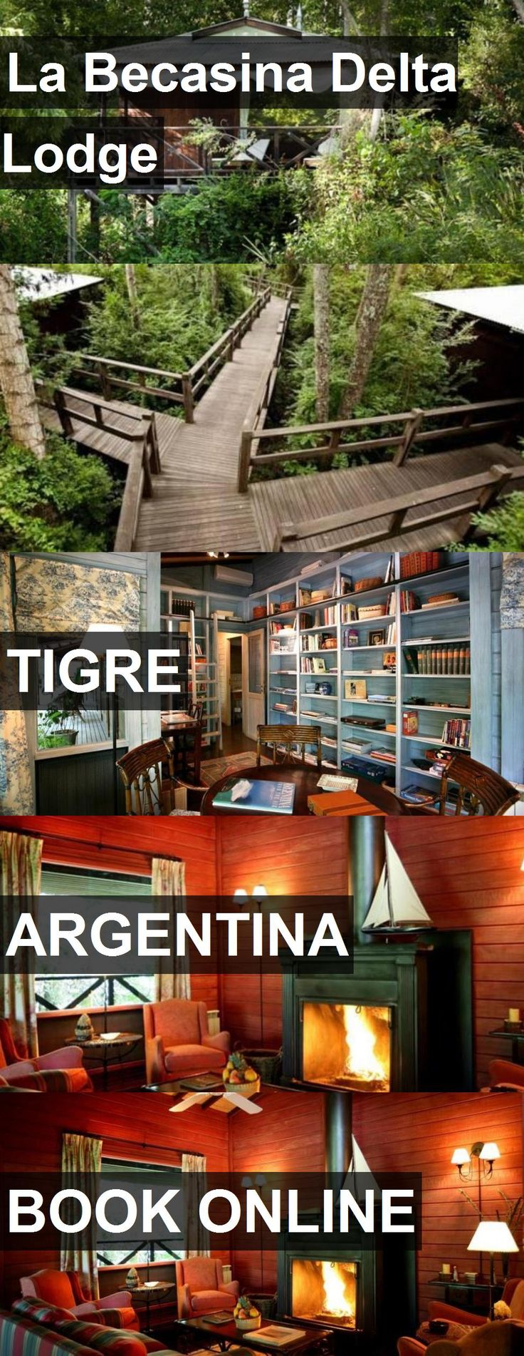 Hotel La Becasina Delta Lodge in Tigre, Argentina. For more information, photos, reviews and best prices please follow the link. #Argentina #Tigre #hotel #travel #vacation