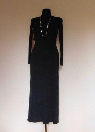 Kup mój przedmiot na #vintedpl http://www.vinted.pl/damska-odziez/dlugie-sukienki/15590036-zara-szara-dzianinowa-dluga-sukienka-36
