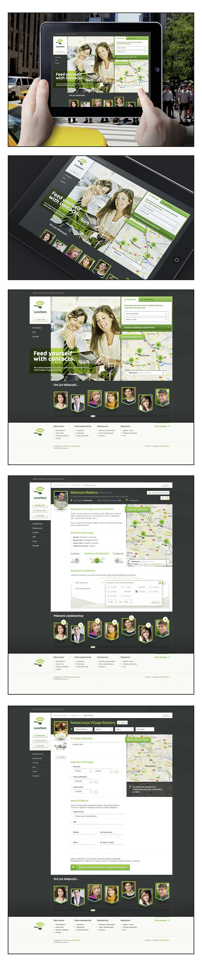 Lunchers by Vision Trust , via Behance