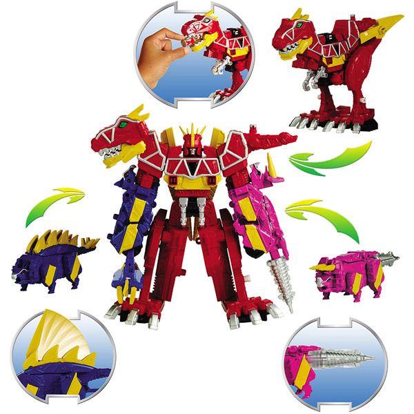 megazord dino super charge - power rangers; power ranger dino charge ROBIN