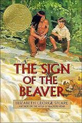 """The Sign of the Beaver"" - Elizabeth George Speare  (1983, Fiction)"