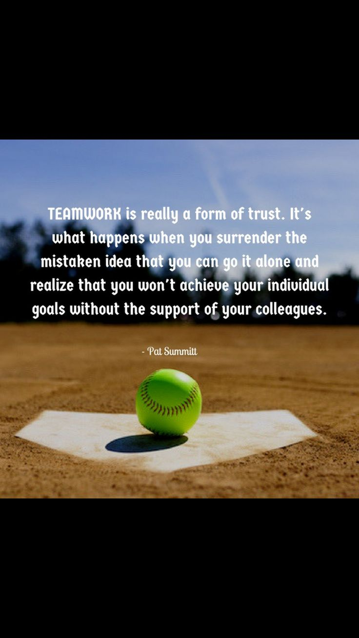Softball friendship quotes quotesgram - Going To The Playoffs