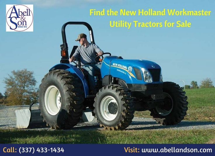Are you looking to buy utility tractors? Abell & Son provides utility tractors, skidsteers, hay equipment, tillage equipment, and compact tractors and more. For more information, Call:  (337) 433-1434