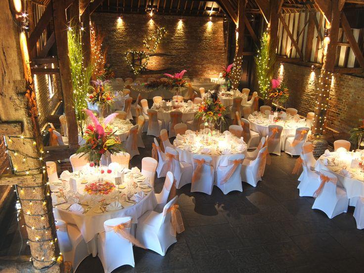 The Tithe Barn Wedding Venue In Kent