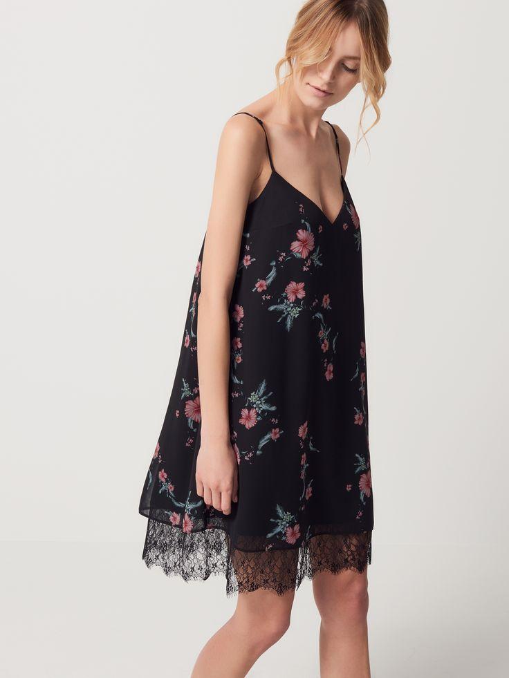 LADIES` DRESS, ŠATY, OVERALY, vícebarevn, MOHITO