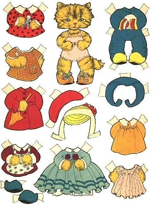 Pigeon Toes Paper Dolls