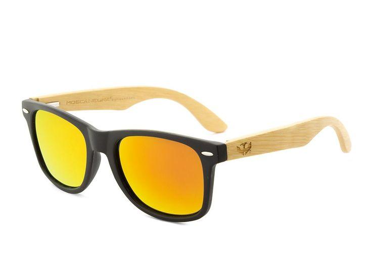 Gafas de madera Mix - Solid Black - Polarized [0]