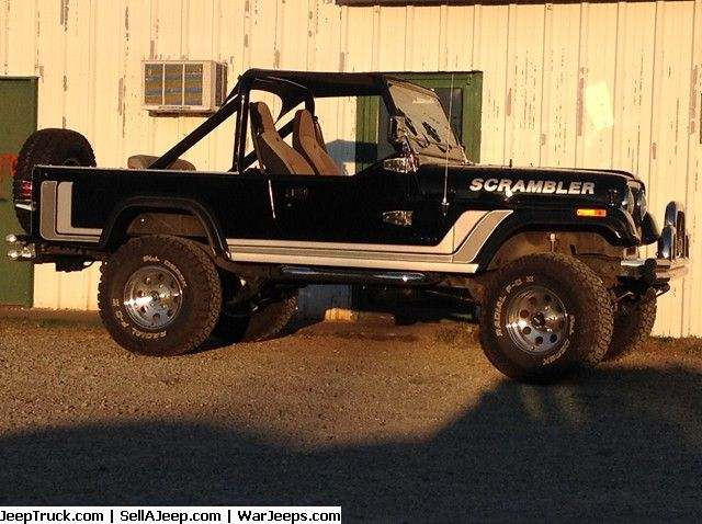Jeeps For Sale and Jeep Parts For Sale - 1984 Jeep Scrambler CJ-8