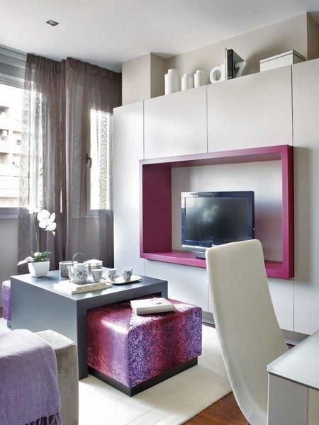 Magnificent Ideas Design Solutions For Small Studio Apartment Decorating  Small Apartments Small Studio Apartment Ideas
