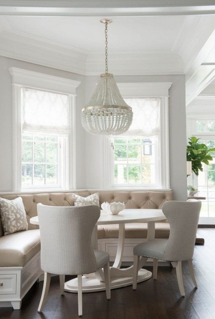 38 Inspiring Transitional Dining Room Design Ideas White Dining Room Transitional Dining Room White Dining Room Sets