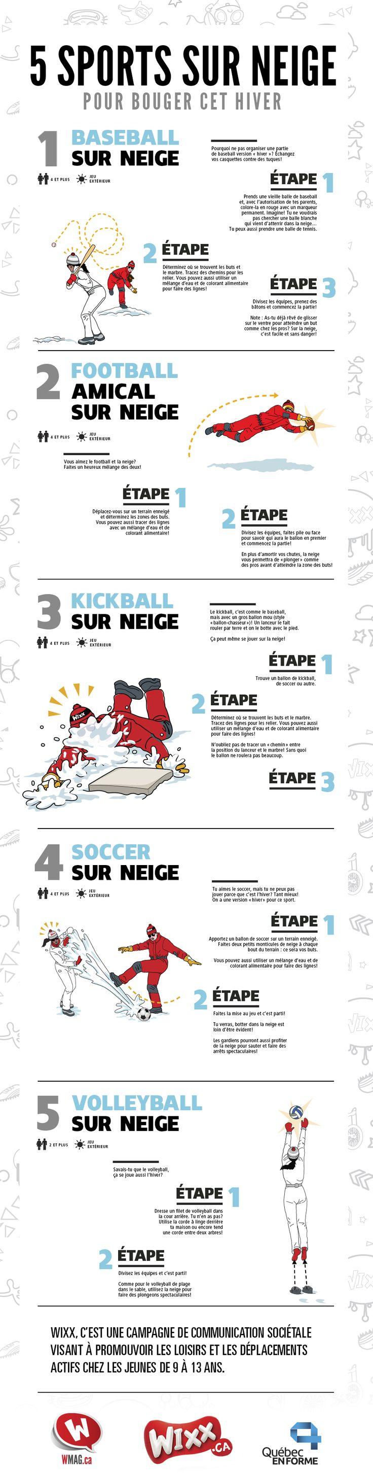 Jeux d'hiver: 5 sports à faire sur neige | WIXXMAG