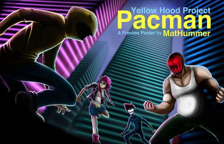 Rabisco do Matheus Machado. #IlustraSafari #PacMan