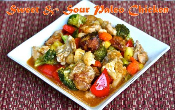 Sweet & Sour Paleo Chicken