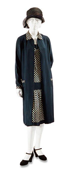 デイ・ドレス  フランス 1925年頃   Day dress  France c.1925