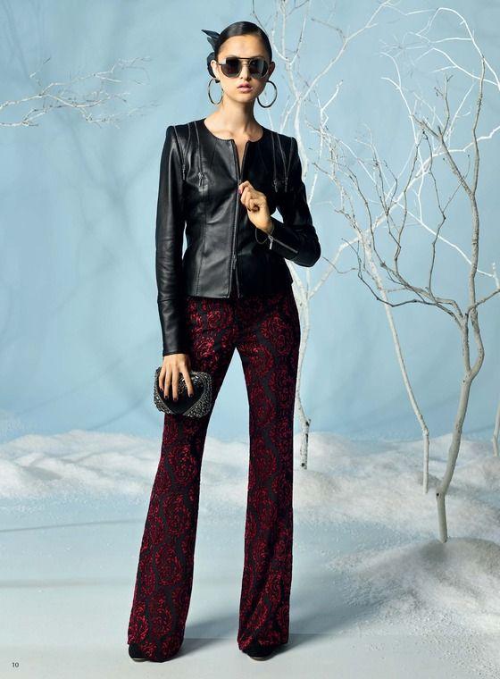 wideleg pants, leather jacket, #winterfashion #auckland #nz - Adrienne Winkelmann