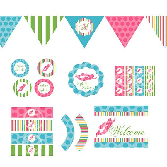 Free printable baseball stuff for birthday cakes for Baby shower decoration free