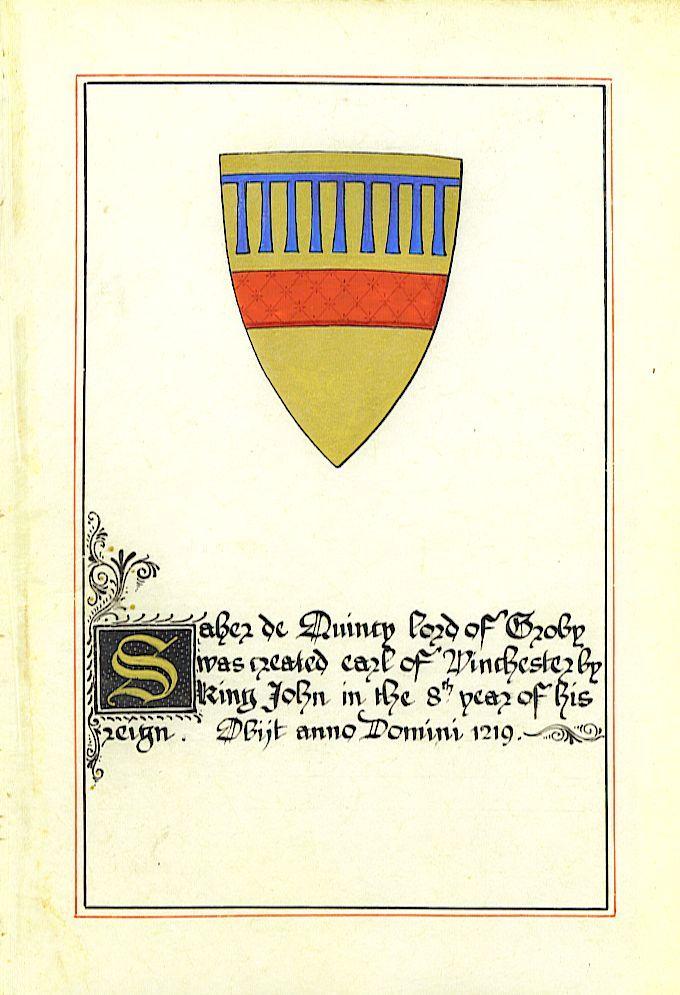 Saire de Quincy (1155 - 1219) Magna Charta | The Barons