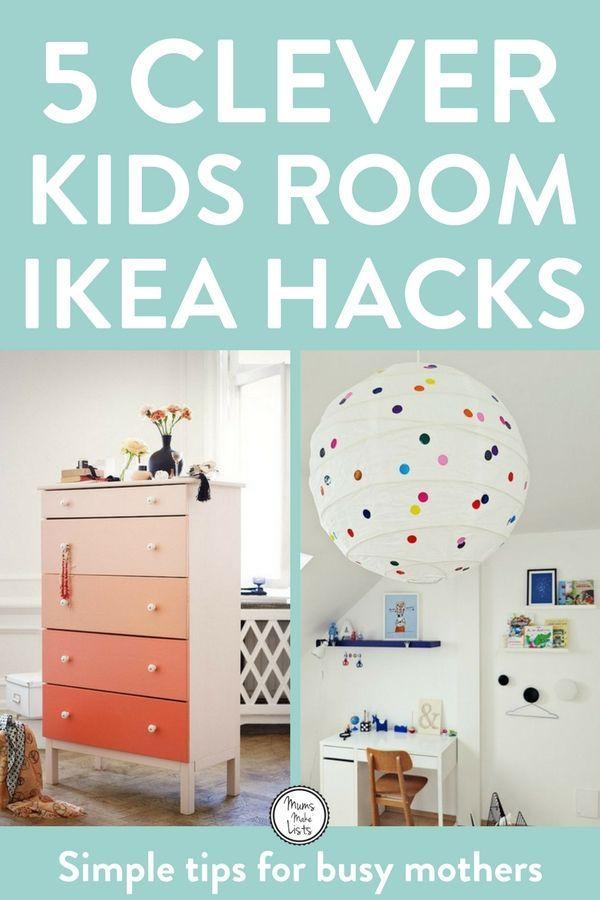 IKEA HACKS FOR KIDS | Creative kids