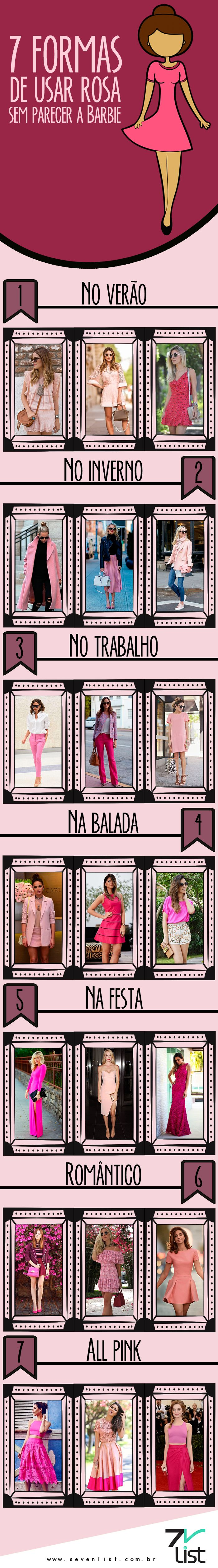 #Moda #Fashion #Pink #Rosa #SevenList #OutubroRosa #SevenList #Art #Design #Look #Outfit